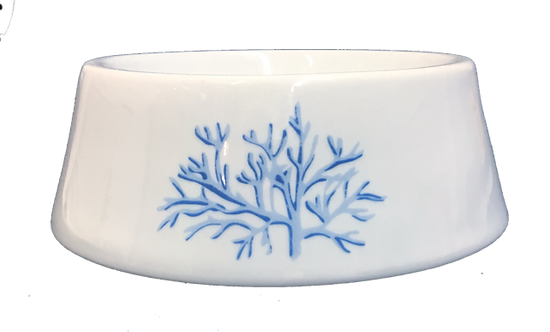 Blue Coral Ceramic Bowl