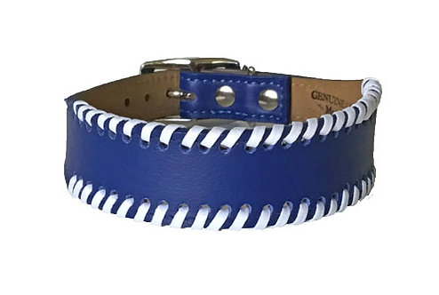 Laced Collar Royal Blue