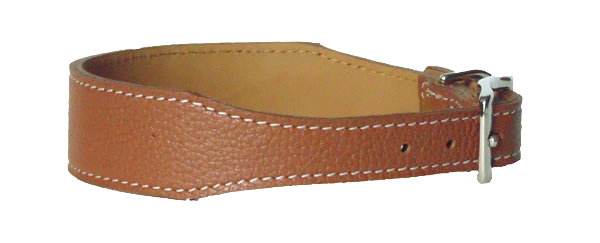 Pebble Tapered Collar Tan