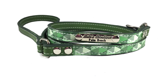 Escher Leash Green