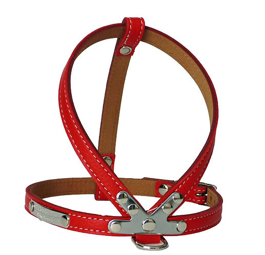 Pebble K Harness Red