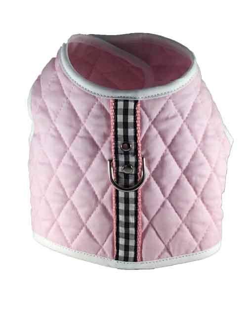 Pink Checks Vest Harness