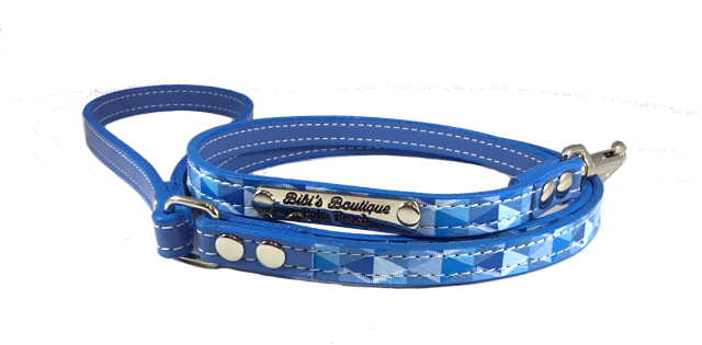 Escher Leash Blue