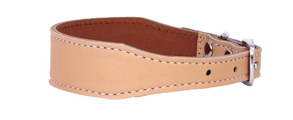 Luscious Tapered  Collar Almond