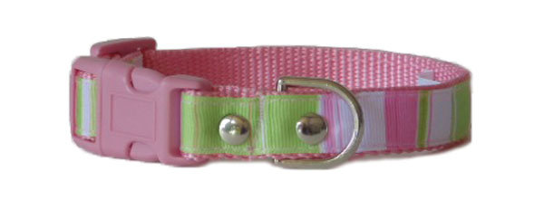 Stripes Pink Green