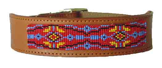 Native American Beaded Collar - Crossroads