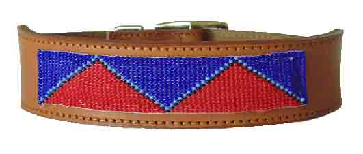 Native American Beaded Collar - Mountains