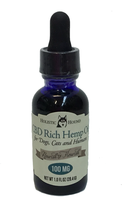 CBD Rich Hemp Oil