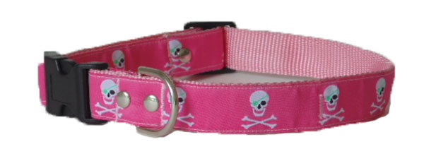 Jacquard Pink / White Skull