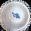 Thumbnail: Blue Shell Ceramic Bowl