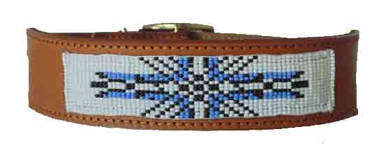 Native American Beaded Collar - SUN
