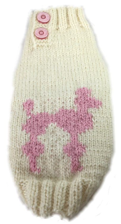 Sweater Pink Poodle