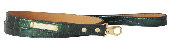 Croc Green Leash