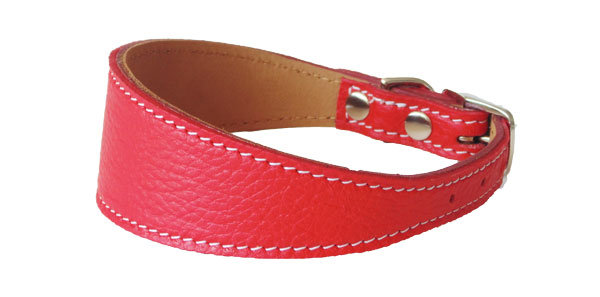 Pebble Cumberbun Collar Red