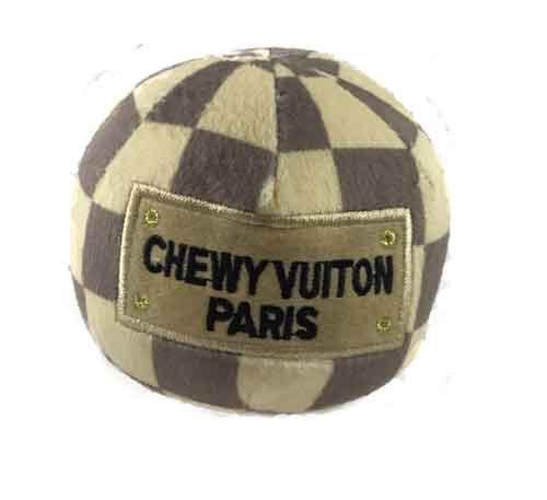 Chewnel Check Ball  Plush Toy