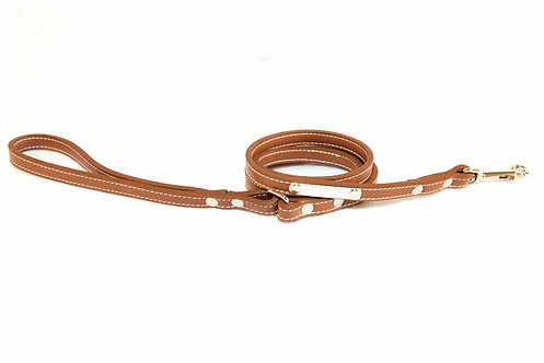 Pebble Leash Brown