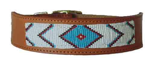 Native American Beaded Collar - Medicine Man