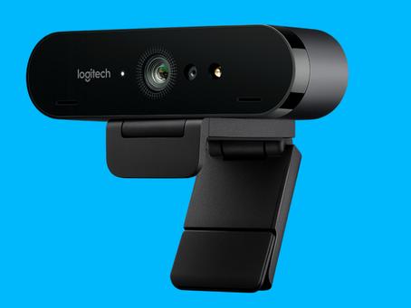 Logitech presenta nueva webcam, 4K, HDR y soporte a Windows Hello.