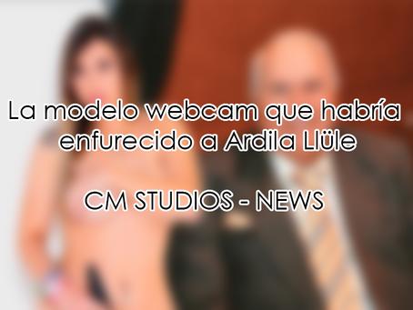 La modelo webcam que habría enfurecido a Ardila Llüle