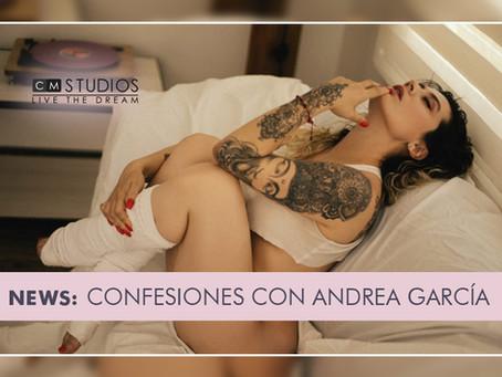 Confesiones con  Andrea García