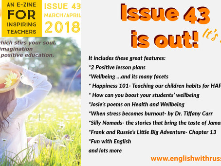 Inspirational English, Issue 43 is OUT!