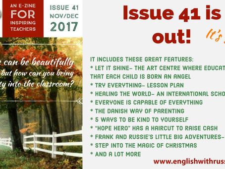Inspirational English, Issue 41 is out!