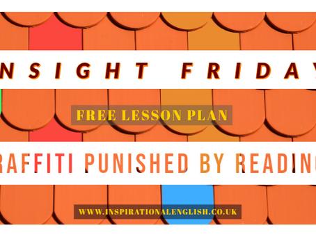 Insight Friday-Graffiti Punished by Reading