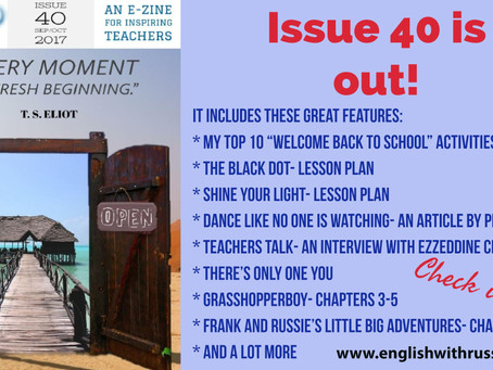 Inspirational English, Issue 40 is OUT!