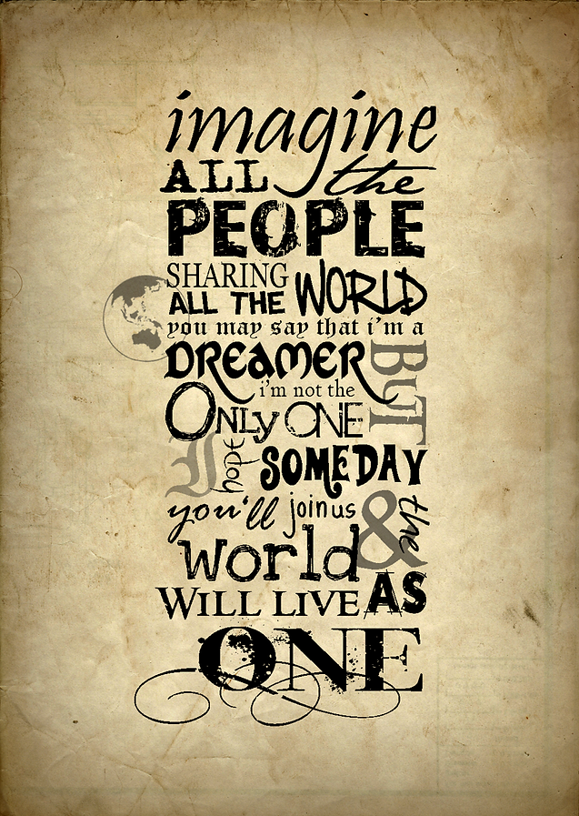 Imagine- Lesson Plan | English with Russie