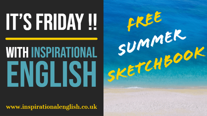 Free summer sketchbook
