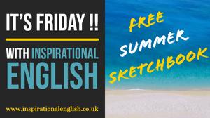 Free summer sketchbook