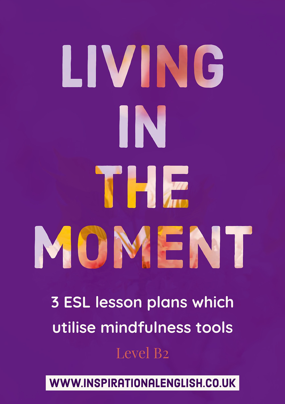 Living in the Moment-  3 ESL plans utilising Mindfulness elements