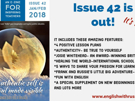 Inspirational English, Issue 42 is out!