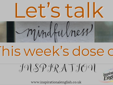 Let's talk MINDFULNESS