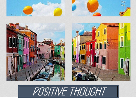 Positive Thought 21.06.2016