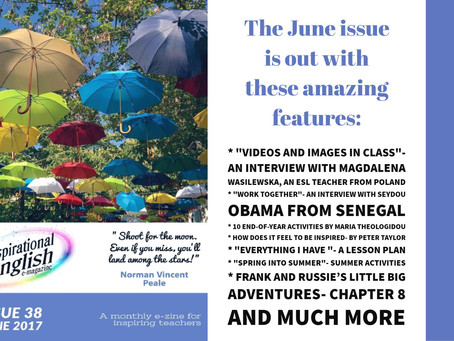 Inspirational English, June 2017 is out