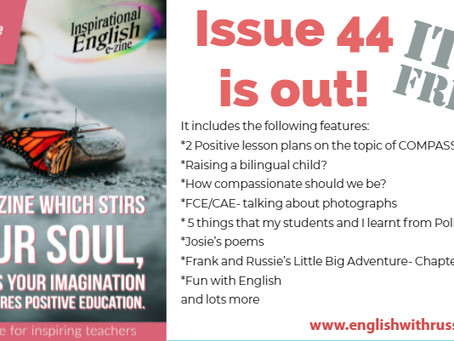 Inspirational English, Issue 44 is out