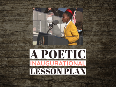 A Poetic Inaugurational Lesson Plan