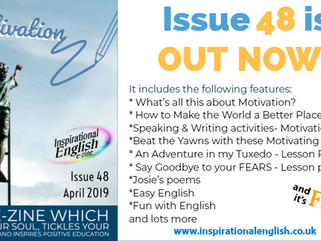 Inspirational English, Issue 48 is OUT