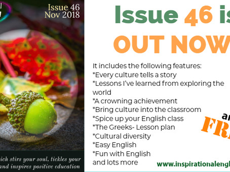 Inspirational English, Issue 46 is OUT!