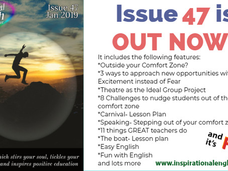 Inspirational English, issue 47 is out!