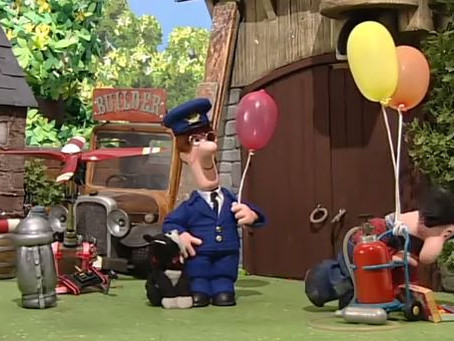 Postman Pat´s flying post