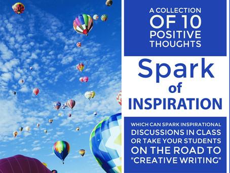 Spark of Inspiration