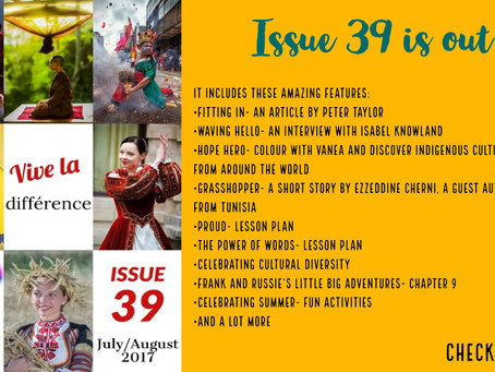 Inspirational English, Issue 39 is out!