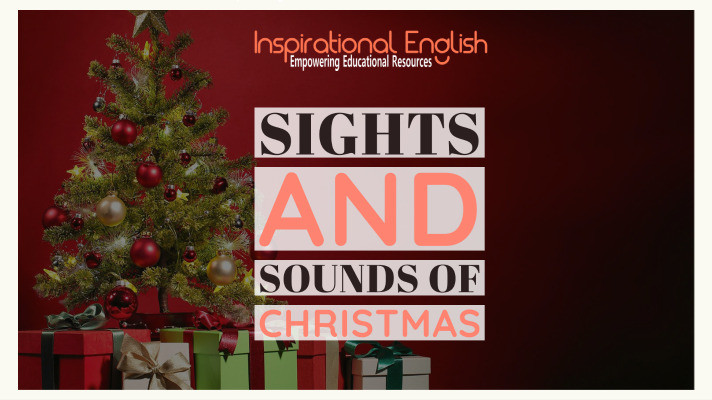 Sights and Sounds of Christmas, ESL Christmas lessons