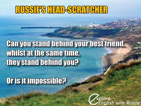 Russie's head-scratcher