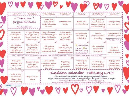 February's Kindness Calendar