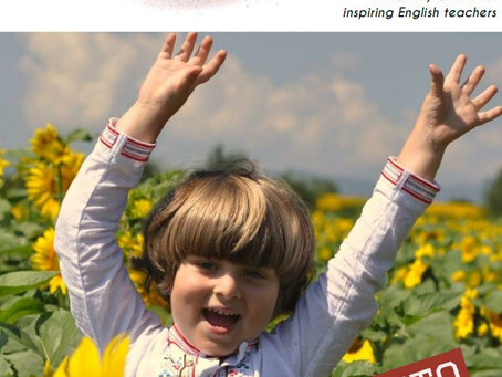 "Spring into HAPPINESS with the March issue of ""Inspirational English"""