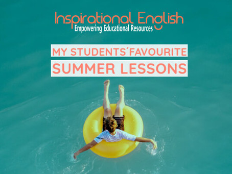 My Students' Favourite Summer Lessons