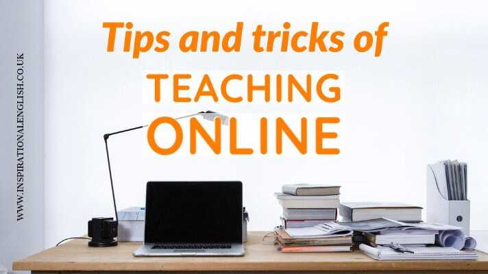 tips and tricks of teaching online, ESL, EFL